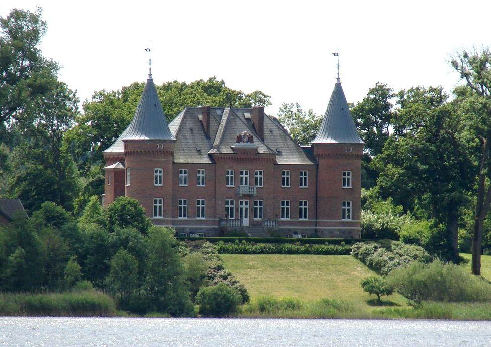 trädgårdsdesign slottsträdgård