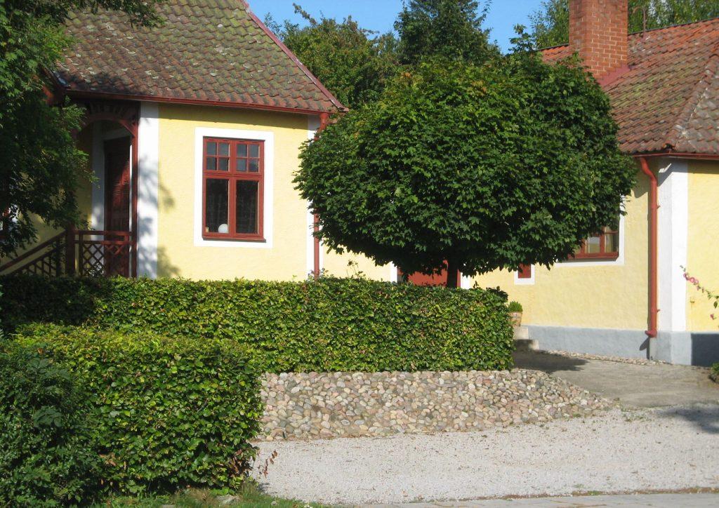 trädgårdsdesign villaträdgård i Veberöd